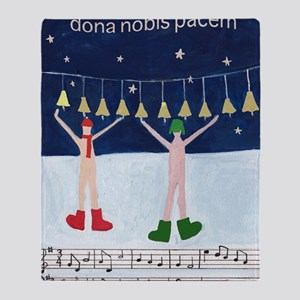 dona-nobis-pacem Throw Blanket