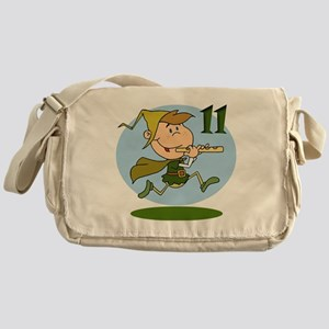 11 pipers Messenger Bag