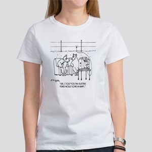 3217_sheep_cartoon Women's T-Shirt