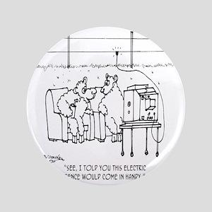 """3217_sheep_cartoon 3.5"""" Button"""