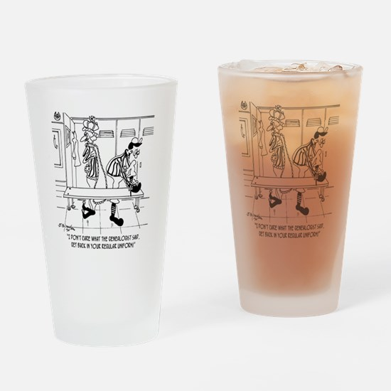 6704_referee_cartoon Drinking Glass