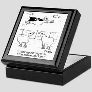 6772_sheep_cartoon Keepsake Box