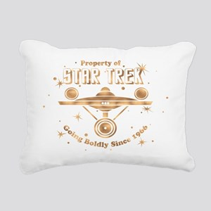 property of trek copper  Rectangular Canvas Pillow