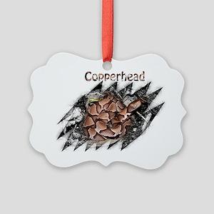 Copperhead shirt 2 Picture Ornament