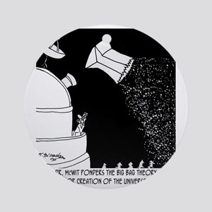 5928_astronomy_cartoon Round Ornament