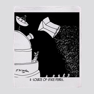 8215_space_cartoon Throw Blanket