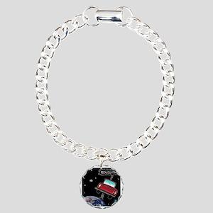 8638_GPS_cartoon Charm Bracelet, One Charm