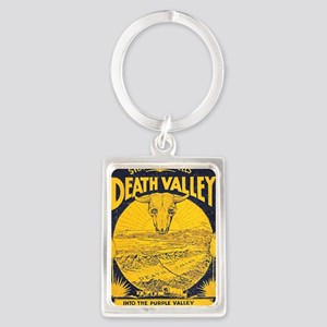 Death-Valley Stove Pipe Portrait Keychain