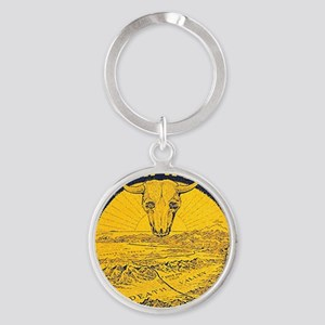 Death-Valley Stove Pipe Round Keychain
