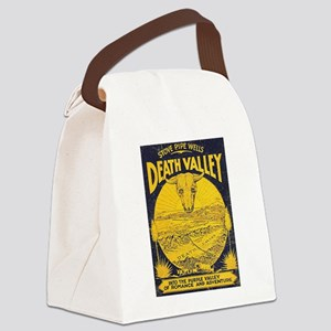 Death-Valley Stove Pipe Canvas Lunch Bag