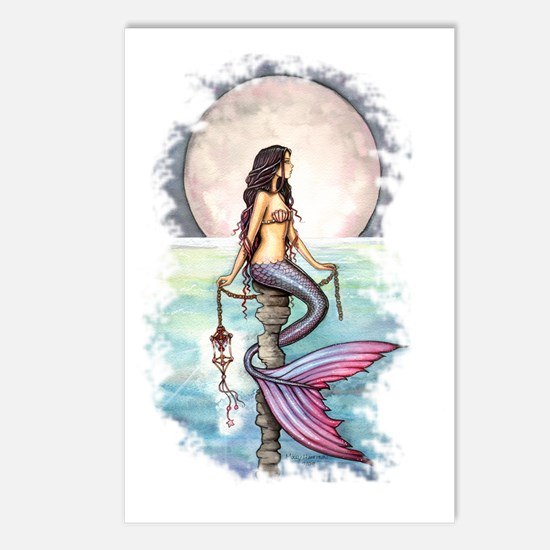 enchanted sea transparent Postcards (Package of 8)
