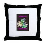 uni drag Throw Pillow