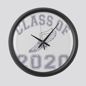 CO2020 Track Grey Distressed Large Wall Clock