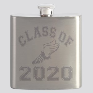 CO2020 Track Grey Distressed Flask