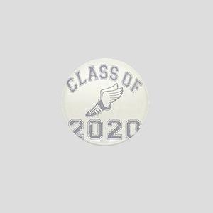 CO2020 Track Grey Distressed Mini Button
