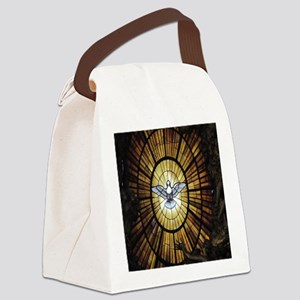 dove_window_crop_525x525 Canvas Lunch Bag