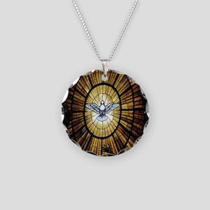 dove_window_crop_525x525 Necklace Circle Charm