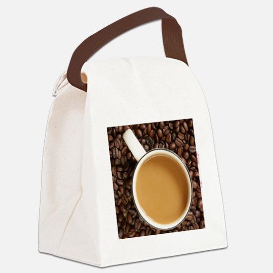 coffeewallet2 Canvas Lunch Bag