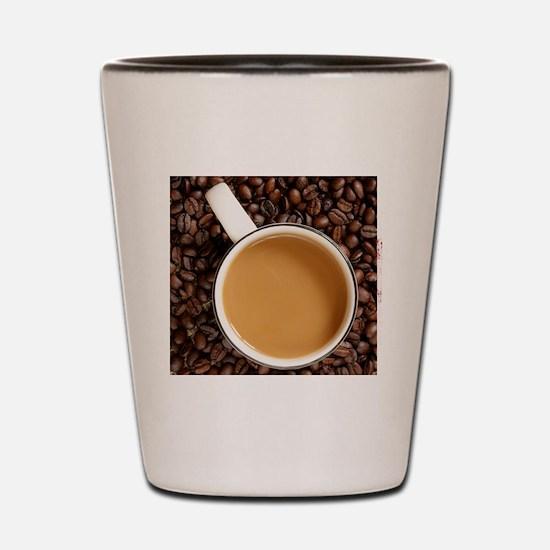 coffeewallet2 Shot Glass