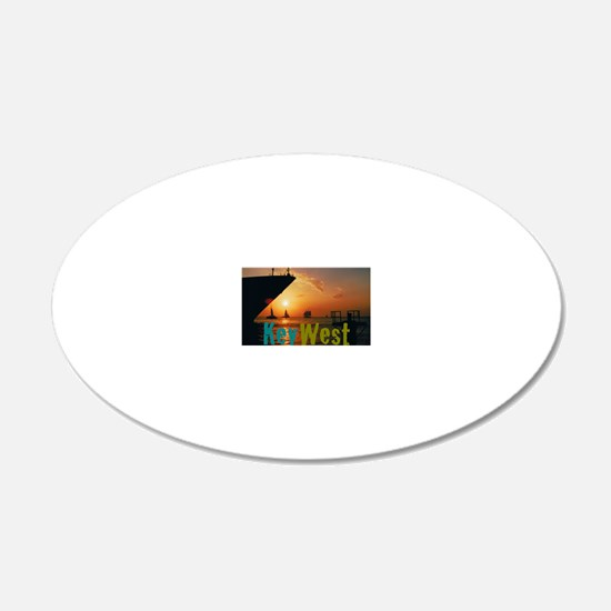 11.5x9at255SunsetShipKW Wall Decal