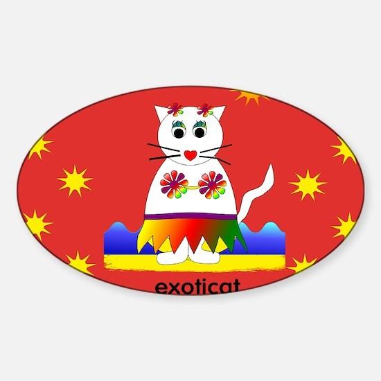 AUG CAT Sticker (Oval)