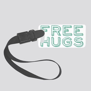 freehugs2 Small Luggage Tag