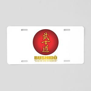 bushido Aluminum License Plate