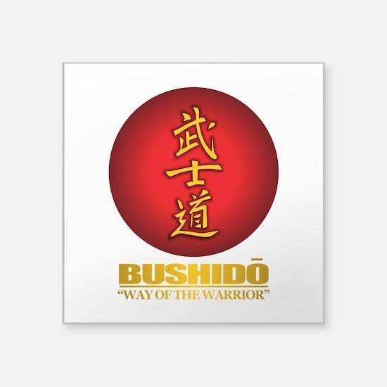 bushido Sticker