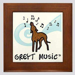 GreytMusic_BRINDLE Framed Tile