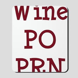 FIN-wine-po-prn-CROP Mousepad
