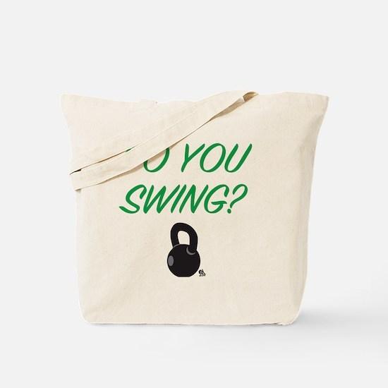 swing_girl Tote Bag