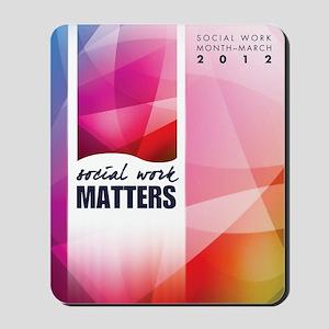 SWM-Poster Mousepad