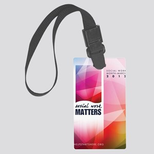 SWM-Poster Large Luggage Tag