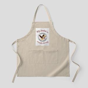 my seabee BBQ Apron