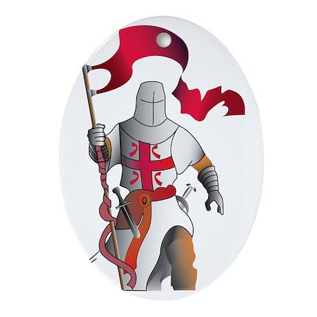 vitez_koja Oval Ornament