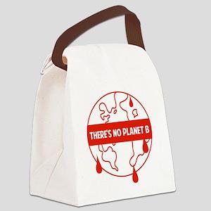 gloWarmPlanetB1C Canvas Lunch Bag