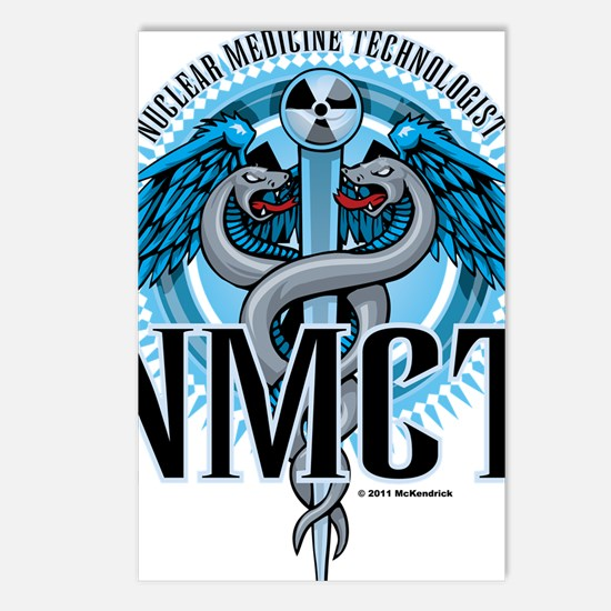 NMCT-Caduceus-Blue Postcards (Package of 8)