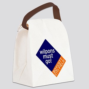 Wilpons_Must_Go Canvas Lunch Bag