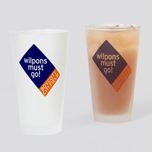Wilpons_Must_Go Drinking Glass