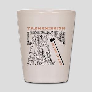 transmission tower Shot Glass