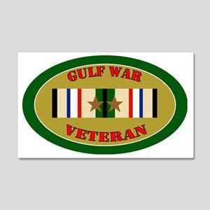 gulf-war-2-oval 20x12 Wall Decal