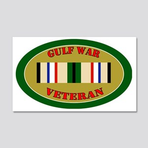 gulf-war-0-oval 20x12 Wall Decal