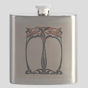 jugend 1900 design 2 Flask