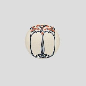 jugend 1900 design 2 Mini Button
