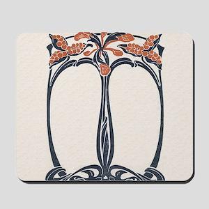 jugend 1900 design 2 Mousepad