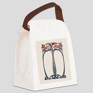 jugend 1900 design 2 Canvas Lunch Bag