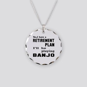 Yes, I have a Retirement pla Necklace Circle Charm
