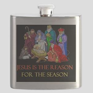 Christmas jesus is the reasond Flask