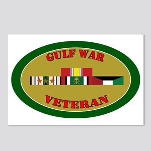 gulf-war-group-3-oval Postcards (Package of 8)