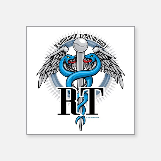 "Radiologic-Technologist-Cad Square Sticker 3"" x 3"""